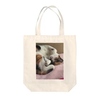愛猫モモ Tote Bag