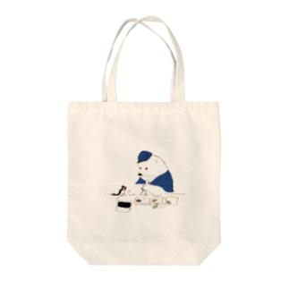 消印ペタペタ Tote bags
