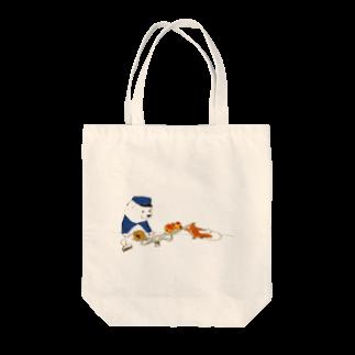 ももろ のはかり Tote bags
