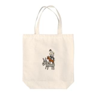 アニマル組体操 Tote Bag