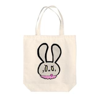 毒ウサ Tote bags