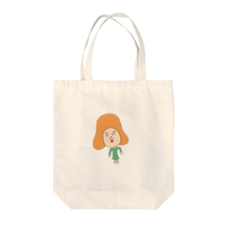 オレンジ髪の女の子 Tote Bag