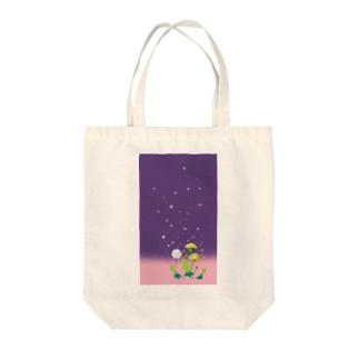 蒲公英 Tote bags