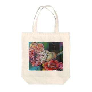 花の都 Tote bags