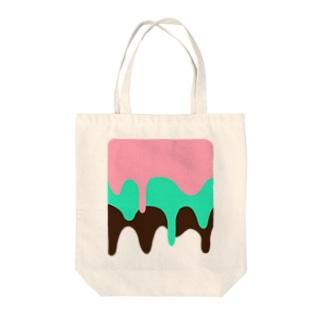 アイス Tote bags