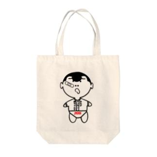 ヤンキー赤ちゃん オリジナルアイテム Tote bags