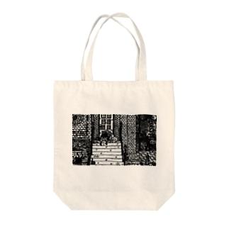 野良 Tote bags