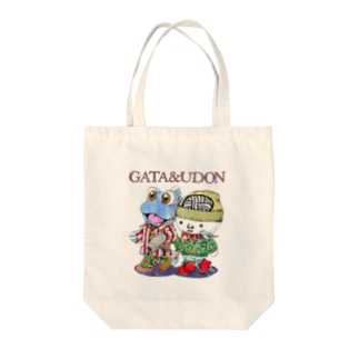 GATA&UDON Tote bags