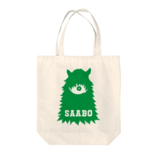 SAABO_FUR_ForestMan_L_G Tote bags