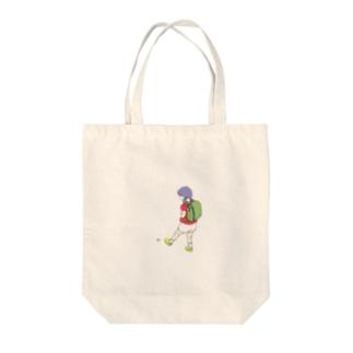 いしけり Tote bags