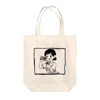 夏のドーピングT Tote bags
