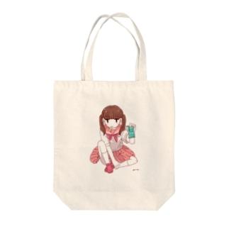 溶ける恋 Tote bags