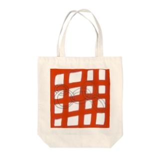 格子五輪 Tote bags
