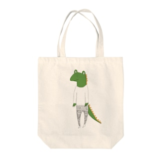 crocodile カラーバージョン Tote bags