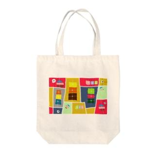 マジョの箱 Tote bags