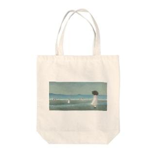plage Tote Bag
