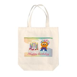 クレコちゃんのハッピーバースディ Tote bags