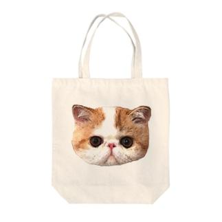 エキゾチックショートヘア Tote bags