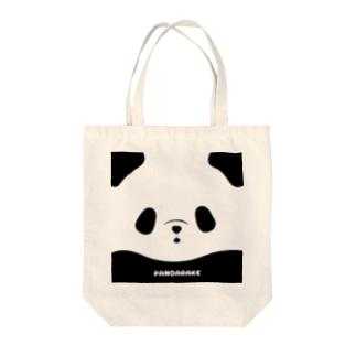 パンダアップ(ぱんだらけ) Tote bags