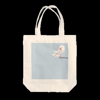 ビガクブの文鳥すさー Tote bags