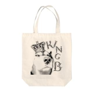 ハスキー  King B Tote bags