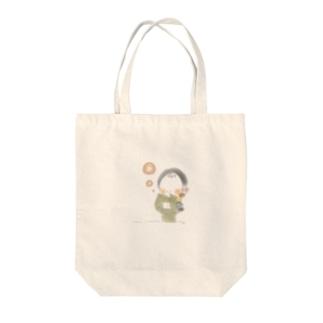 秋のおさげちゃん2 Tote Bag