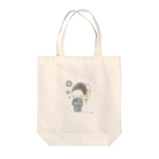 秋のおさげちゃん1 Tote Bag