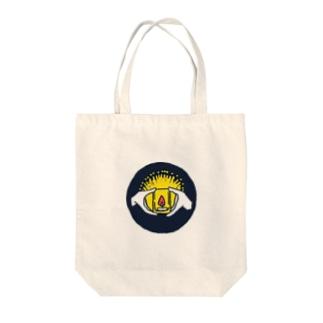 心の灯火 Tote bags
