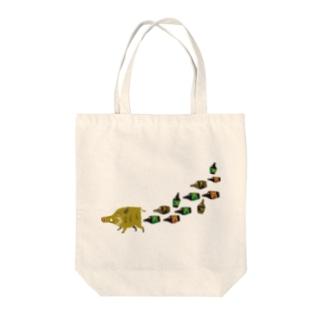 inoshishi Tote bags