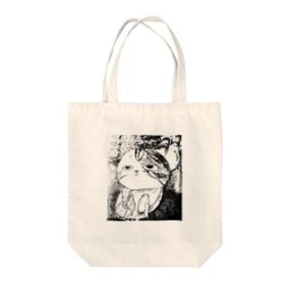 なんとも言えない表情の子猫ちゃん Tote bags