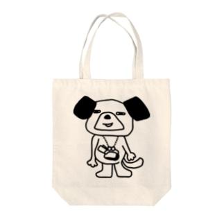 銭犬 Tote bags