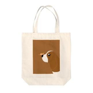 バセット・ハウンド Tote bags