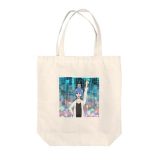 七色のグッズ Tote bags