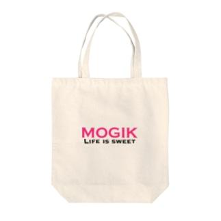 MOGIK PINK Tote bags