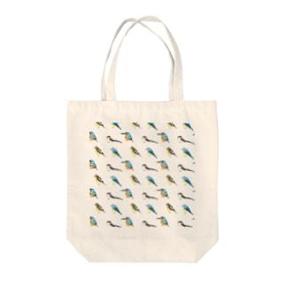 野鳥 Tote bags