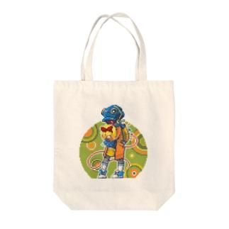 どっと絵 NO.14 Tote bags