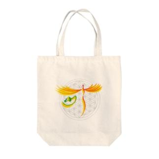 願いが叶う Tote bags