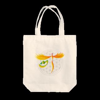 hanamoji-artの願いが叶う Tote bags