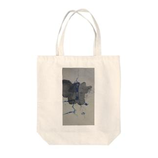 鬱染み Tote bags