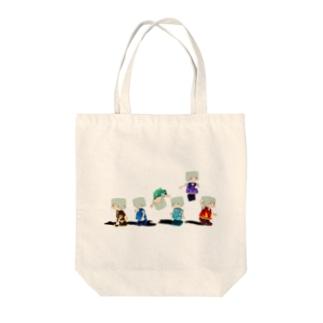 シックスエレメント Tote bags