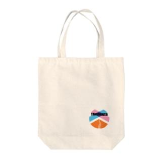 TRAILBLAZER 丸ロゴ Tote bags