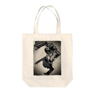 Time Machine Robo Tote Bag