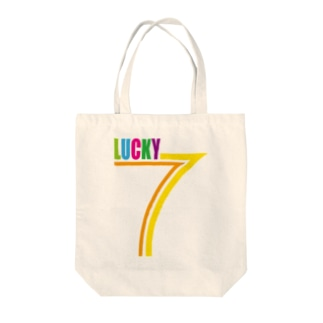 LUCKY7 Tote bags