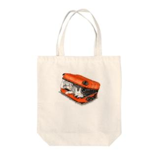 濃縮還元100%オレンジジュース色 Tote bags