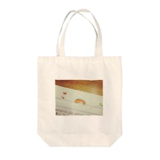 鮭の切り身 Tote bags