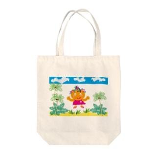 """ジルトチッチのデザインボックスのクレコちゃんのピンクのビーチサンダル(^^)/"""" Tote bags"""