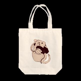 Lichtmuhleのヘッドフォンデグーシリーズ Tote bags