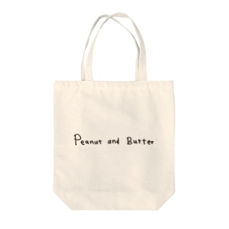 Peanut and Butter Logo トートバッグ
