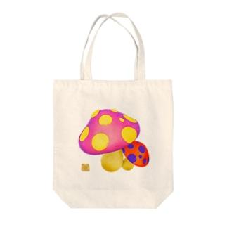 ぷぷっぴ・ぶぅぅ Tote bags