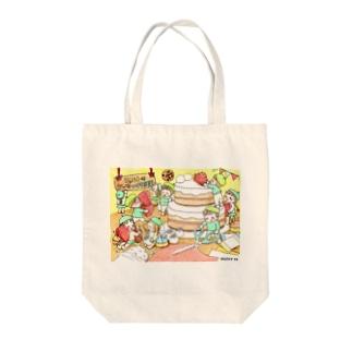 小人の作り物「フェルトのケーキつくります!」 Tote bags